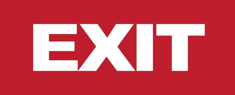 exit logo
