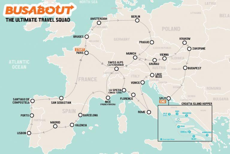 putovanje konkurs evropa