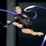 ritmicka gimnastika ilustracija