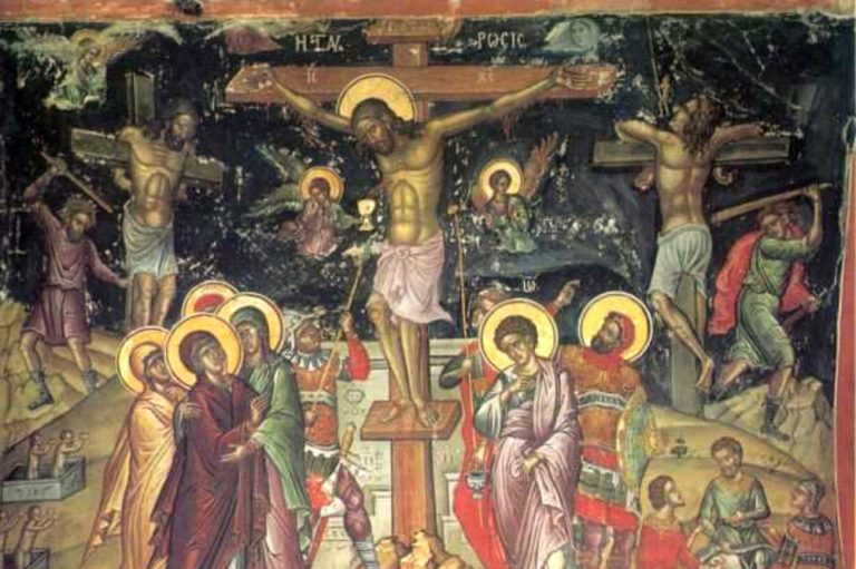 raspece Isusa Hrista freska