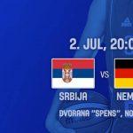 srbija nemačka košarka