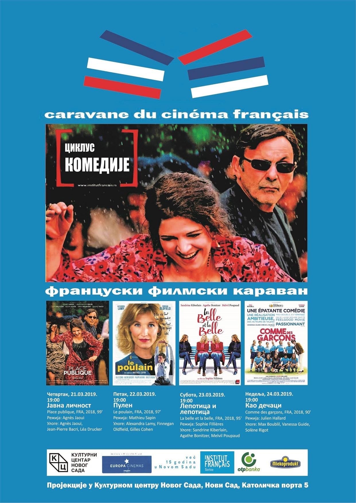 FRANCUSKI FILMSKI KARAV STIŽE U NOVI SAD