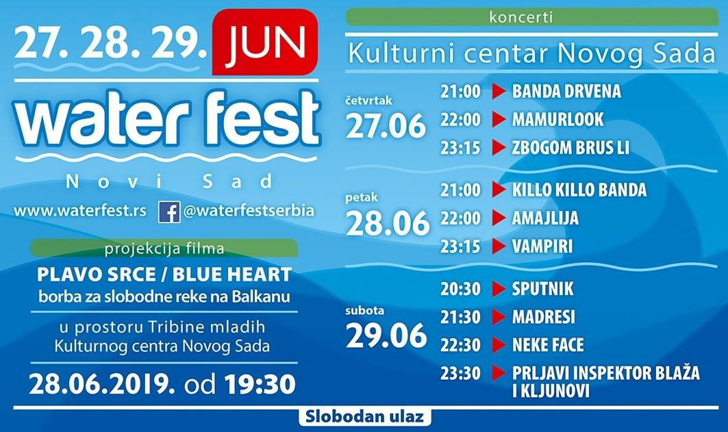 POČINjE WATER FEST