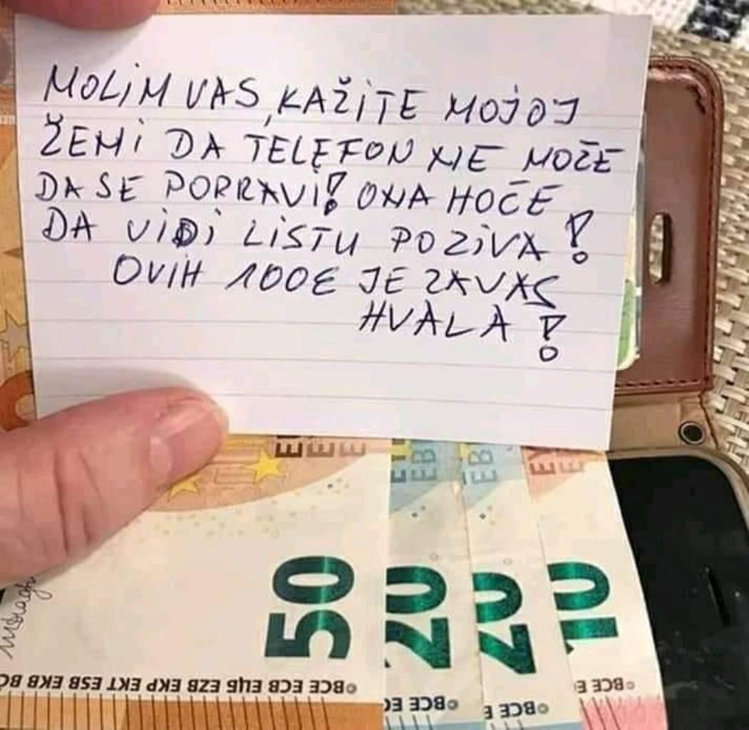 DONEO TELEFON NA SERVIS I PLATIO DA GA NE POPRAVE