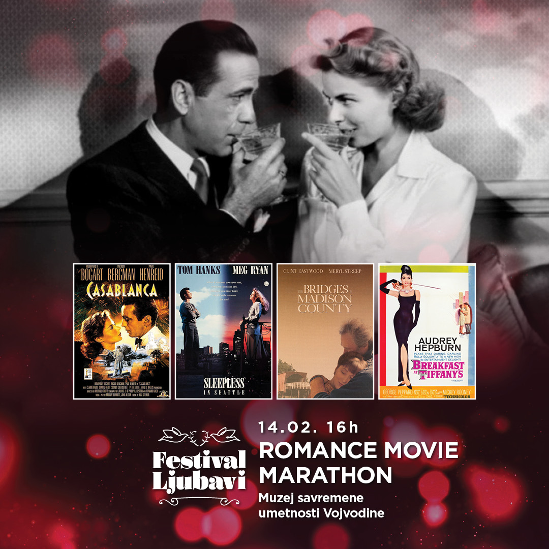 ROMANTIČNI FILMSKI MARADON U MUZEJU SAVREMENE UMETNOSTI